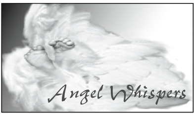 Logo of Angel Whispers Baby Loss Support Program