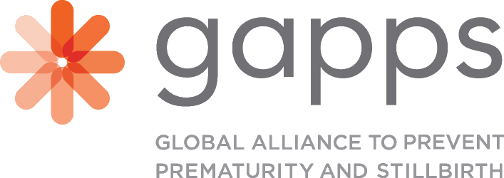 Logo of (GAPPS) Global Alliance to Prevent Prematurity and Stillbirth